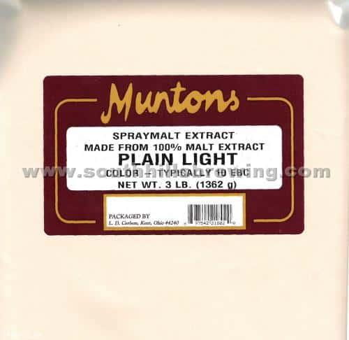 Muntons Dry Malt Light 3 lb