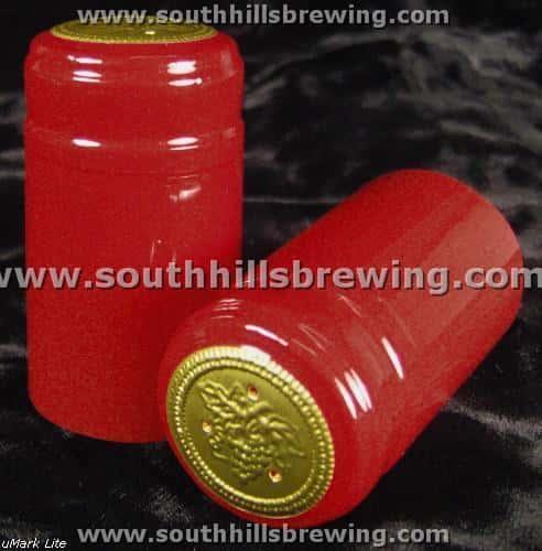 Shrink Capsule-Red (30 pack)
