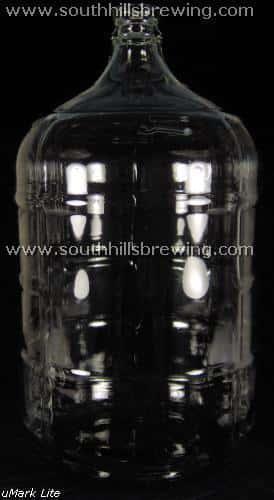 Carboy 5 gallon glass