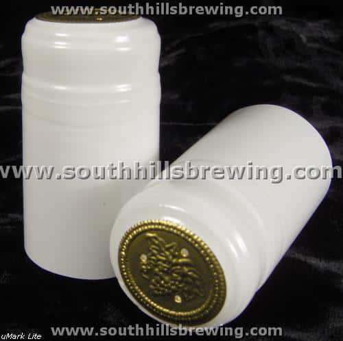 Shrink Capsule-White (30 pack)