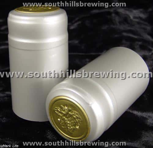 Shrink Capsule-Silver (500 pack)