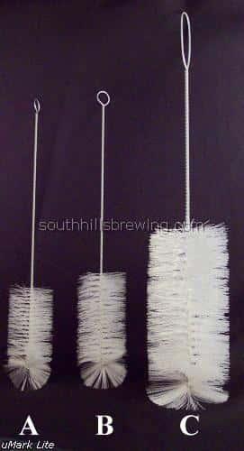 Brush-Wine Bottle