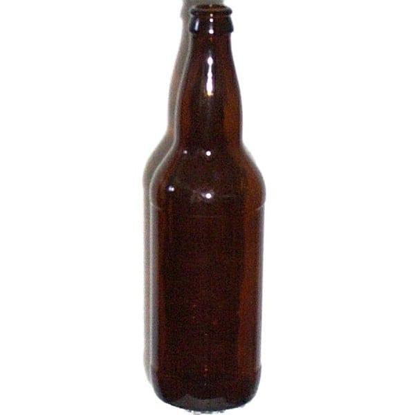 Beer Bottle 22 oz Amber Main Image
