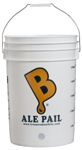 six half gallon bottling bucket